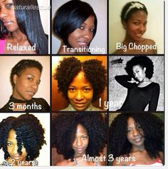 Natural Hair Inspiration: The Stages of 4C Hair | Natural ...