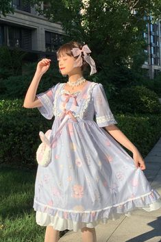 Harajuku Fashion, Kawaii Fashion, Lolita Fashion, Cute Fashion, Girl Fashion, Really Cute Outfits, Pretty Outfits, Pretty Dresses, Cool Outfits
