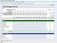 Make A Personal Budget On Excel  Yearly Software And Budgeting