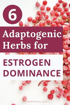 If you're struggling with estrogen dominance and want to know how to balance your hormones naturally, then this article is for you. You're going to learn about adaptogenic herbs and how the role they play as a natural remedy for estrogen dominance and for balancing estrogen in general. Some of these herbs, like schisandra, support the liver while others, like ashwagandha, balance the stress response (which eventually improves estrogen).