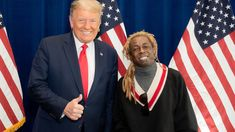 """On Thursday (October 29), rapper Lil Wayne became the latest Hip Hop artist to show his support for President Donald Trump, as the two met face-to-face.    """"Just had a great meeting with (President Donald Trump) besides what he's done so far with criminal reform, the platinum plan is going to give the community real ownership,"""" he tweeted, along with a photo of himself with Trump. """"He listened to what we had to say today and assured he will and can get it done.""""    Lil Wayne (Garrett Poulos)    Donald Trump, Mr Trump, Christina Milian, Ryan Reynolds, John Legend, Blake Lively, Zayn Malik, Joe Biden, Meghan Markle"""