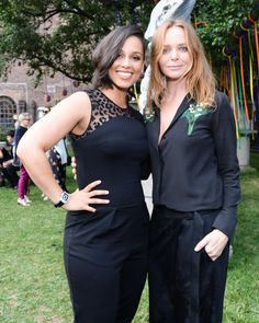 Alicia Keys and Stella McCartney. See all the other celebs on the June party scene.