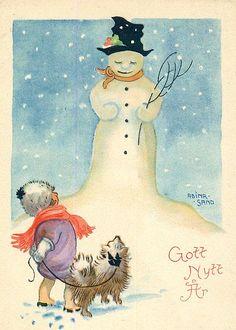 Vintage Christmas - Adina Sand