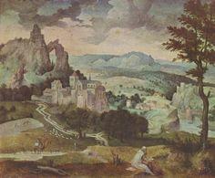 Landschaftsmalerei renaissance  Badlands (Albrecht Altdorfer: Very Deep Forest)/ Mark Catesby: The ...