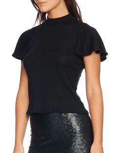 The Flouncy Top - LIMITED (AU $90AUD) by Black Milk Clothing