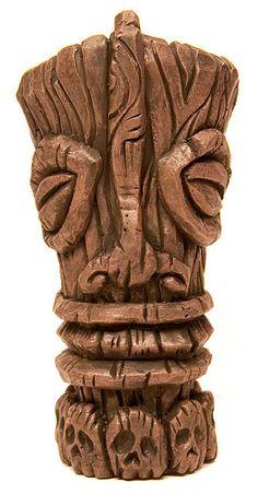 Tiki Sculpture by David Lozeau