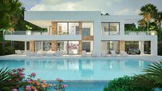 MODERN VILLAS for sale - Luxury contemporary villas and real estate in Marbella, Cannes, Vilamoura, Dubai