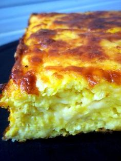 pastel de choclo 1(chipa guazú) Bread Recipes, Cooking Recipes, Healthy Recipes, Paraguay Food, Chilean Recipes, Good Food, Yummy Food, Latin Food, Quiches
