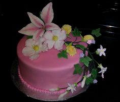 Wilton course #4 - Spring Cake   @Joann's in Ahwatukee, AZ- #wiltoncontest