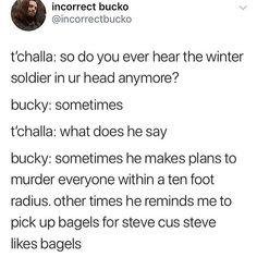 Ideas For Memes Marvel Winter Soldier Marvel Quotes, Funny Marvel Memes, Dc Memes, Avengers Memes, Loki Quotes, Funny Memes, Marvel Fan, Marvel Dc Comics, Marvel Avengers