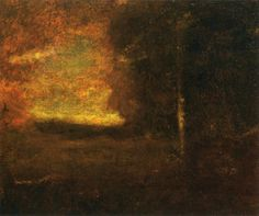 Sunset Landscape by George Inness
