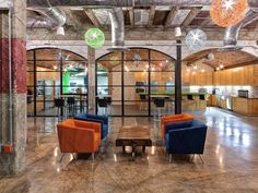 """The new office for iProspect in Fort Wort, Texas includes the """"Brain Room,"""" a curve-shaped conference room that is meant to promote collabor..."""