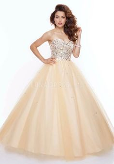 Tulle Sleeveless Ball Gown Natural Waist Sweetheart Prom Dresses