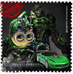 Transformer Minions ~ Crosshairs