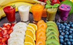 Caffilla Cafe & Smoothie Co. Vegetable Smoothie Recipes, Best Smoothie Recipes, Good Smoothies, Kinds Of Fruits, Fruits And Veggies, Chia Benefits, Share Pictures, Fruit Juice, Base Foods