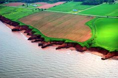 View of the potato fields by air Photo Contest, Fields, Potato, Golf Courses, Island, History, Block Island, Pageant Photography, Potatoes