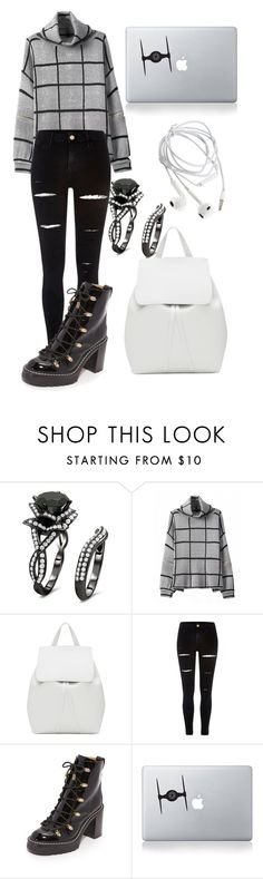 """""""Untitled #872"""" by mriss-abbrie ❤ liked on Polyvore featuring Mansur Gavriel, River Island, rag & bone and Vinyl Revolution"""