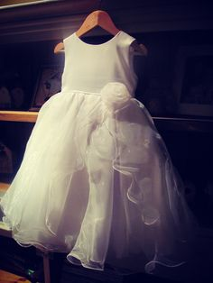 'Elena'  www.facebook.com/maneyandboon  communion, flower girl, christening dress