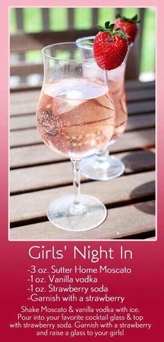 Girls night in...