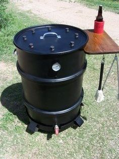 Build a food smoker, lots of links