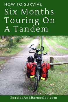 Learn all about how to go cycle touring on a tandem. The pros and cons, practical advice, and how to keep on pedalling through an argument. Bike Storage Area, Cycling Stretches, Tandem Bicycle, Complicated Relationship, Lost In Translation, Travel Light, The Only Way, Touring, Outdoor Power Equipment