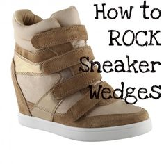 How to Rock Sneaker Wedges