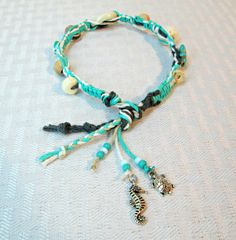 Seashell Beach Anklet Shell Jewelry Turquoise Starfish Sand