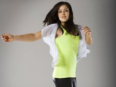 Ana Ivanovic 2013 | reply darkrepulser 6 mar 2013 11 06am i love that green lime tank top ...