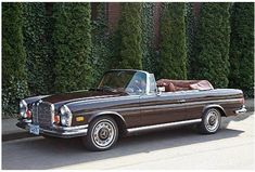 Another example of a car I see as a work of art- 1972 Mercedes Benz 280SE 3.5