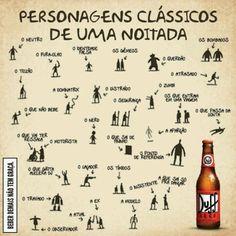 Festa // Tema: Boteco // Bar // Decoração // Frases // DIY // Personagens Clássicos de uma Noitada // Cerveja Duff