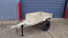 """Custom Trailer for your 4x4 Jeep, Truck or SUV. I can build to your specs, mild to wild, but will give you a run down of the specs on the one pictured. 3"""" Channel Frame 14 ga body. Deck for tongue. Dr"""