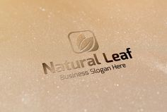 Check out Natural Leaf Logo by BDThemes Ltd on Creative Market