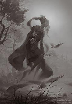 Chazaqiel, Ángel de la Niebla - Grigori o Ángel caído