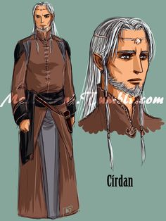 The White Council : Cirdan by MellorianJ.deviantart.com on @deviantART