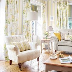 Find sophisticated detail in every Laura Ashley collection - home furnishings, children's room decor, and women, girls & men's fashion. Living Room Designs, Living Room Decor, Living Spaces, Living Rooms, Laura Ashley Living Room, Childrens Room Decor, Home And Deco, Decoration, Home Furnishings