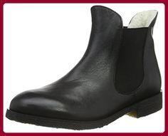 Sofie Schnoor Damen Raw Boot w. Fur Kurzschaft Stiefel, Schwarz (Black), 38 EU - Stiefel für frauen (*Partner-Link)