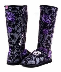 These say me all over them!!!! Iron Fist Muerte boots