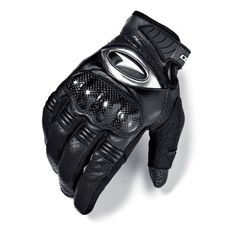 AXO Pro Race Gloves (Black, Medium) by AXO. $42.11. Protect your hands with AXO Pro Race Gloves. These gloves come equipped with a carbon fiber knuckle protector that prevents scrapes and bruises while riding. Perforated leather covers fingers and the back of the hand, and the short cuff is ideal for racing.. Save 16% Off!