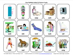 Testy yet trying: Initial S: Free Speech Therapy Articulation Picture Cards