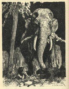 the jungle book rudyard kipling illustrations - Google Search