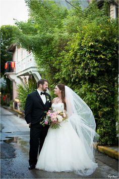 tonya beaver photography; jacksonville wedding photographer; jacksonville beach wedding photographer; st augustine wedding; long veil; pink and blush bouquet