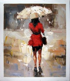 by - City Life - - Girl with Umbrella - Museum Quality Oil Painting on Canvas Art by Artseasy on Etsy Canvas Frame, Canvas Art, Umbrella Painting, China Buy, Oil Painting On Canvas, Painting Art, Paintings, Selling On Pinterest, Contemporary Artists