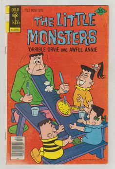 The Little Monsters; Vol 1, 44, Bronze Age Comic Book.  FN. February 1978.  Gold Key Comics #littlemonsters #comicsforsale