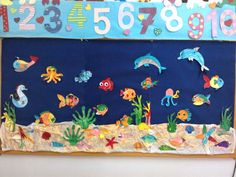 Underwater classroom display photo - SparkleBox