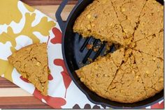 Spiced Pumpkin Cornbread (serve with soup!) by Daily Garnish