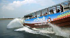2-storey Tokyo sightseeing bus Sky bus / Hop-on Hop-off Sky hop bus / amphibious Sky Duck Bus