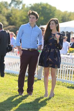 Classy Girls Wear Pearls: Cavison- Harvard Vs. Cornell Autumn Polo Match