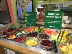 make your own juice bar | jpg