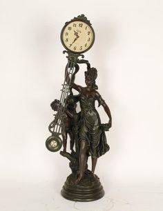 Crosa swinging pendulum Quartz clock - French 19th century style