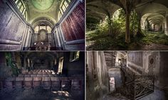 Haunting photos show the beauty of Italy's abandoned buildings